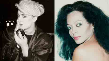 Boy George and Diana Ross