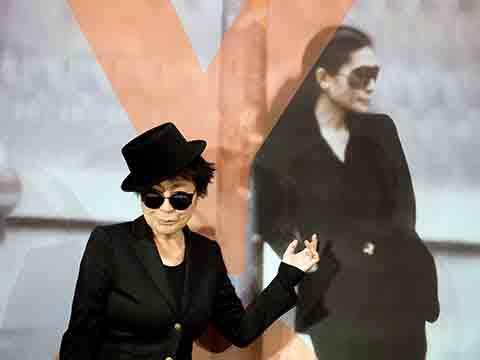 Ретроспектива работ японской художницы Йоко Оно
