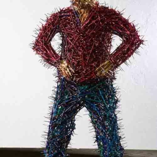 скульптуры из карандашей-1