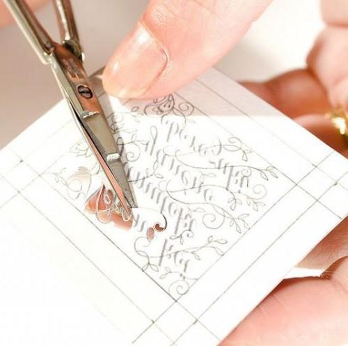 Бумажное кружево Хины Аоямы 3