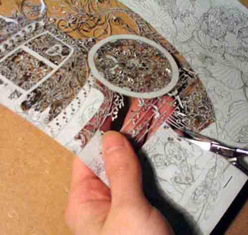 Бумажное кружево Хины Аоямы 4