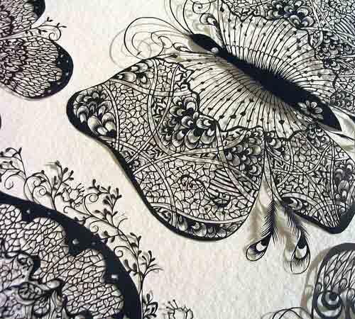 Бумажное кружево Хины Аоямы 8