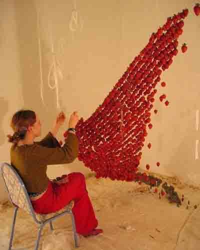 Невесомые инсталляции Клер Морган 2