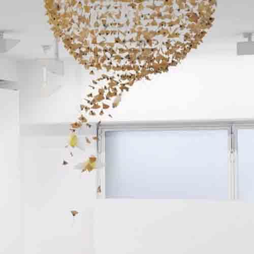 Невесомые инсталляции Клер Морган 4