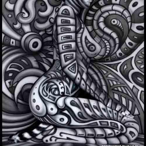 Необычный боди-арт Крейга Трейси 3