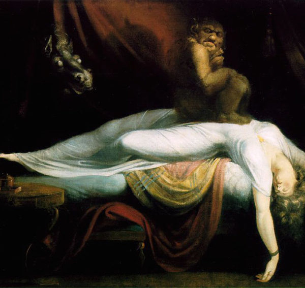Иоганн Генрих Фюссли. Кошмар. 1781.