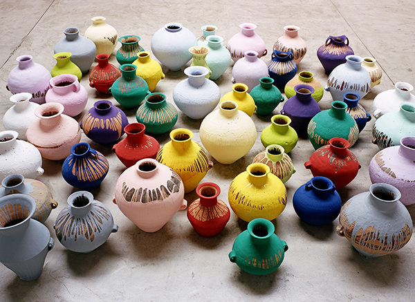 Ай Вэйвэй. Colored Vases, 2007-2010