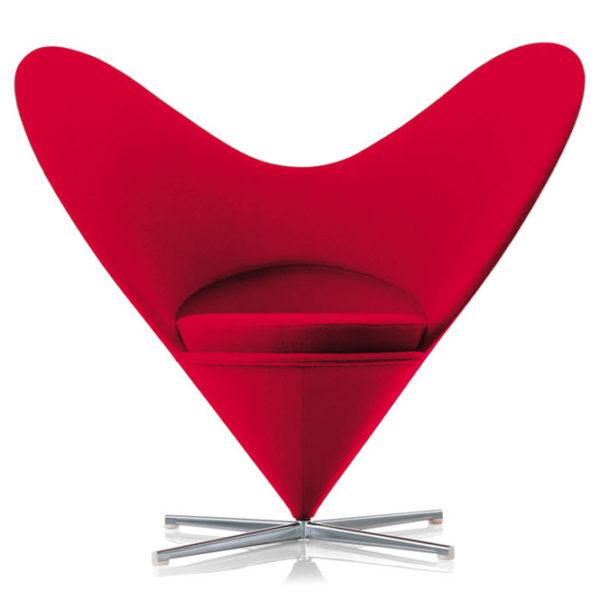 Verner Panton, Кресло в форме сердца, 1959