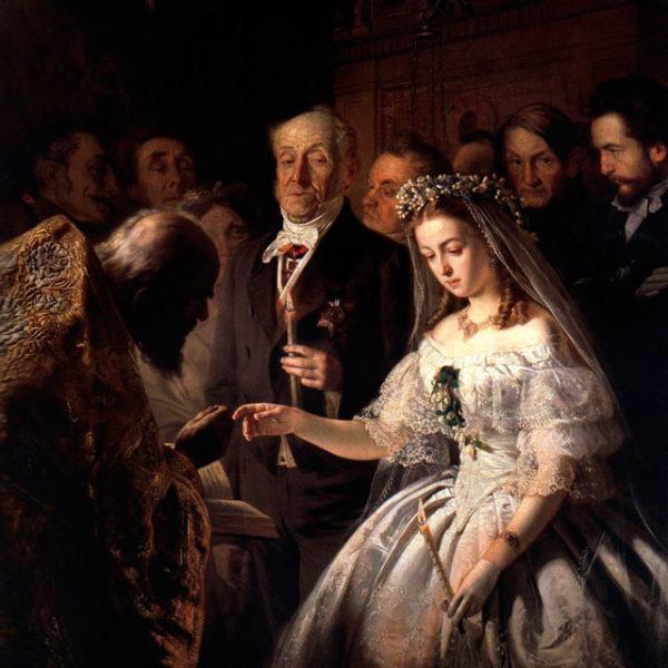 """Василий Пукирев. """"Неравный брак"""", 1862 год"""