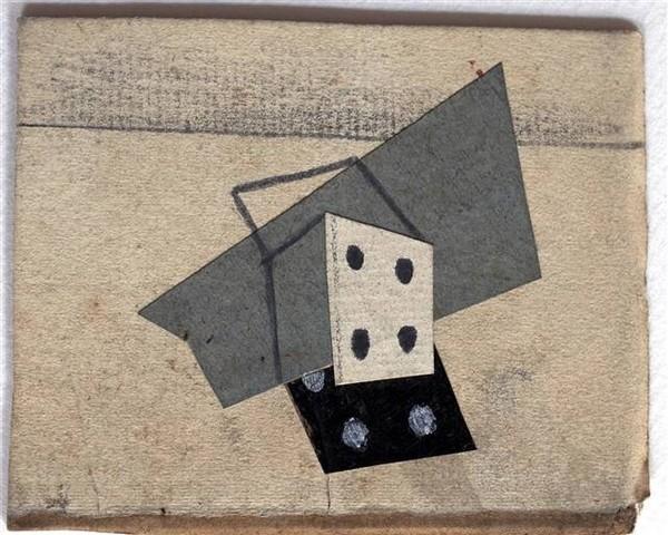 Пабло Пикассо. Рисунок игральной кости