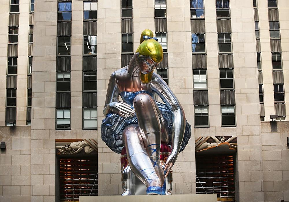 Джефф Кунс признался, что сплагиатил работу украинской художницы
