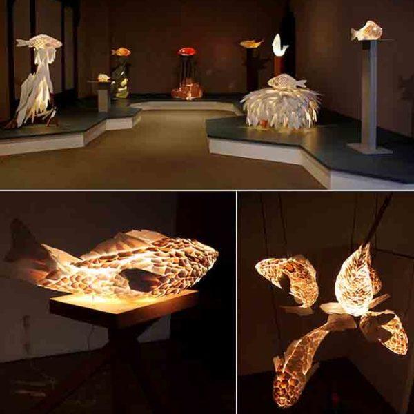 светящиеся рыбы от Фрэнка Гэри (Frank Gehry)