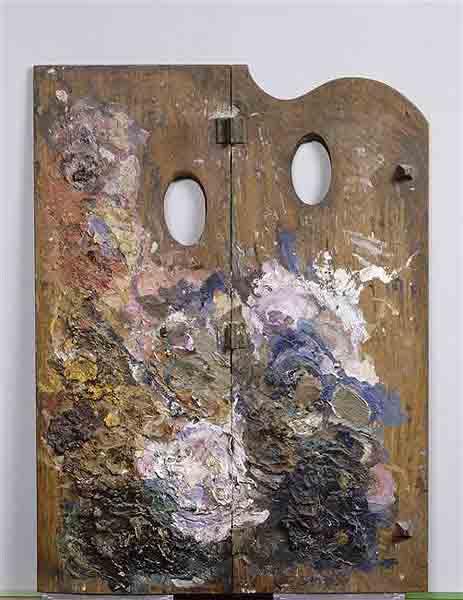 Чистый цвет палитры Поля Гогена