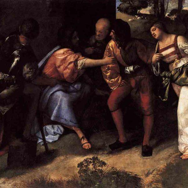 Тициан Вечеллио картины