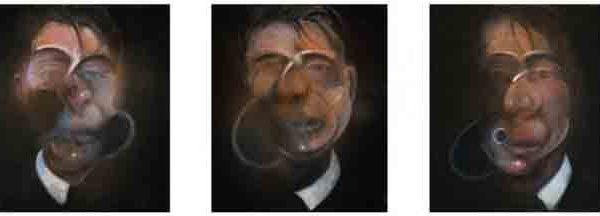 картина Фрэнсиса Бэкона «Три этюда для автопортрета»