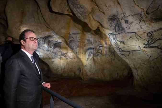 В пещере Шове
