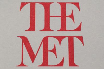 Новый логотип музея Метрополитена