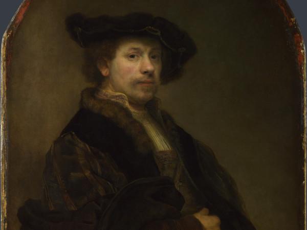 Лондонская Национальная галерея, Автопортрет в возрасте 34 лет, Rembrandt