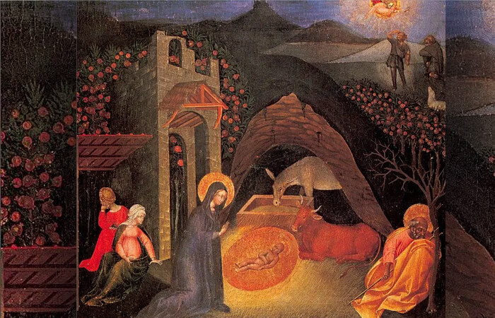 «Рождество Христово» Джованни ди Паоло
