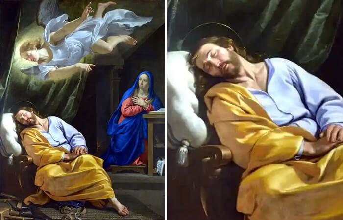 «Сон святого Иосифа» Филипп де Шампань